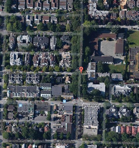 L'ancien quartier francophone Saint-Sacrement à Vancouver. | Photo DR