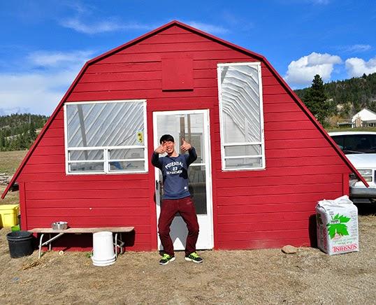 Le Wwoofer coréen JK a voyagé pendant un an au Canada et aux États-Unis. | Photo par Anne-Diandra Louarn