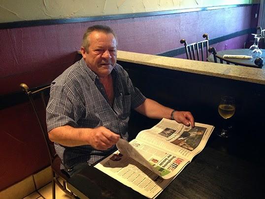José, ancien lecteur de Lusitania. | Photo par Mathilde Liogier
