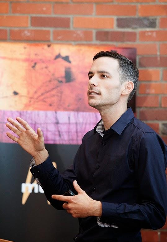 Jean-Francois Packwood,  directeur général du Conseil culturel  et artistique francophone de la Colombie-Britannique. | Photo par Stephanie Lamy
