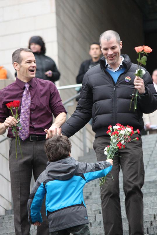 Si entendre parler de mariage gay ne choque plus au Canada, des inégalités et des témoignages d'homophobie subsistent. | Photos par Brian Chilson
