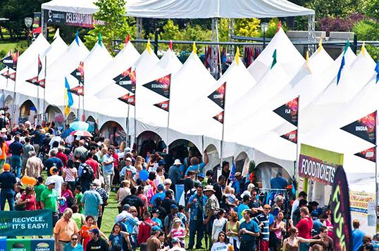 Deux jours de festivités au Surrey Fusion Festival.