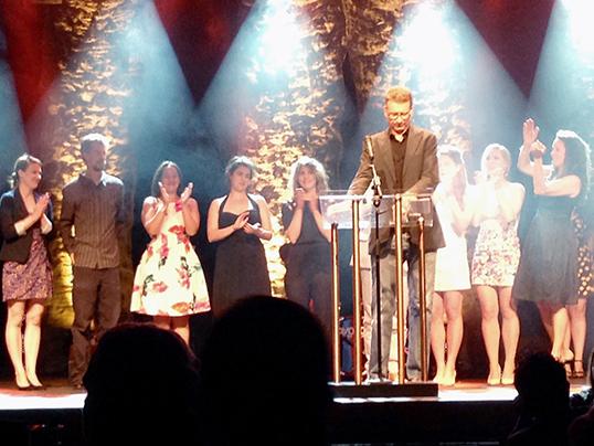 Remise des trophées Jessie Richardson au Commodore Ballroom. | Photo de Théâtre la Seizième
