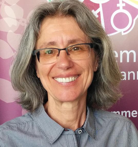 Marina Schmitt, présidente  de Réseau-Femmes. | Photo de Réseau-Femmes