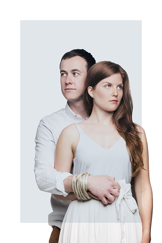 Cory Haas et Julie Trépanier dans la pièceDeux ans de votre vie.   Photo de Emily Cooper