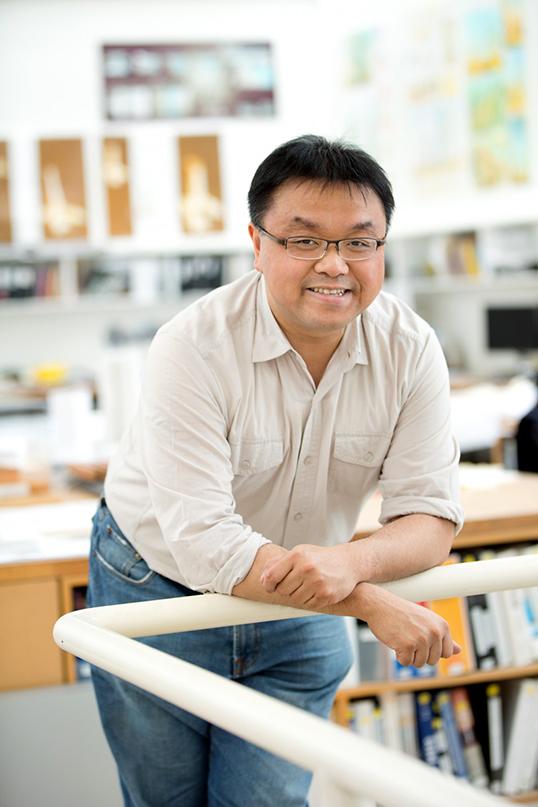 Andy Yan, urbaniste. Photo de Bing Thom Architects