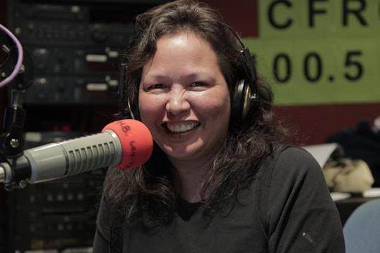 Gunargie O'Sullivan, productrice radio.