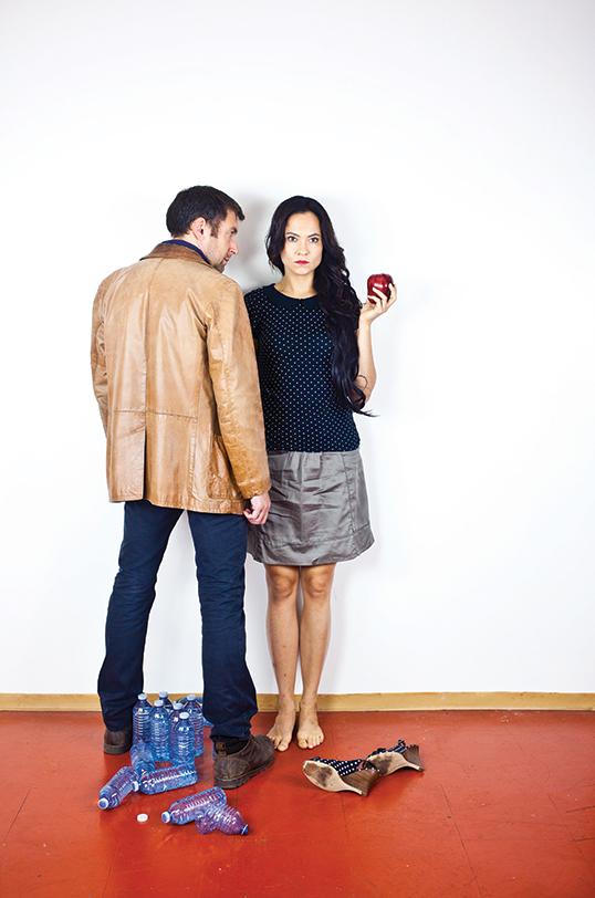 Jean et Béatrice. |Photo de Emilie Leclerc