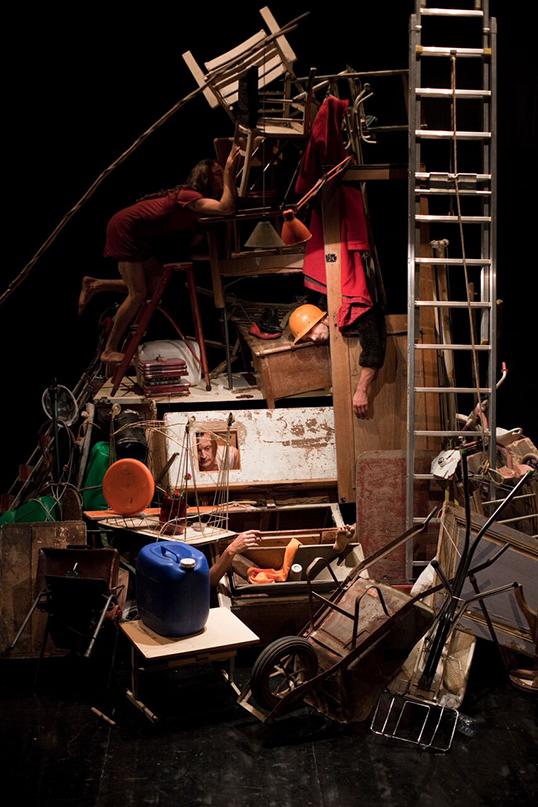 Le spectacle L'Immédiat lors du festival Focus   Photo by Vincent Beaume