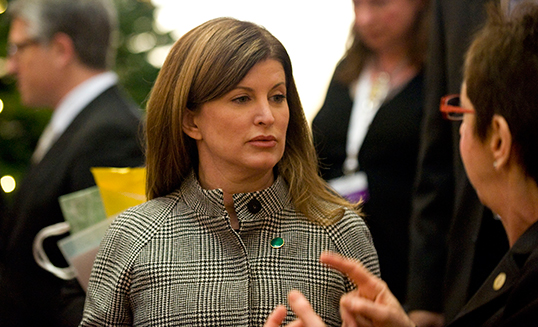 Rona Ambrose, chef par intérim du Parti conservateur du Canada. | Photo courtesy of the Office of the Prime Minister of the United Kingdom