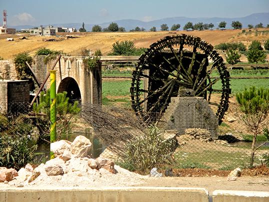 Les Norias de Hama. | Photo par Pierre Grenier