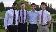 Les quatre jeunes fondateurs de Indian Umbrella. | Photo de Indian Umbrella