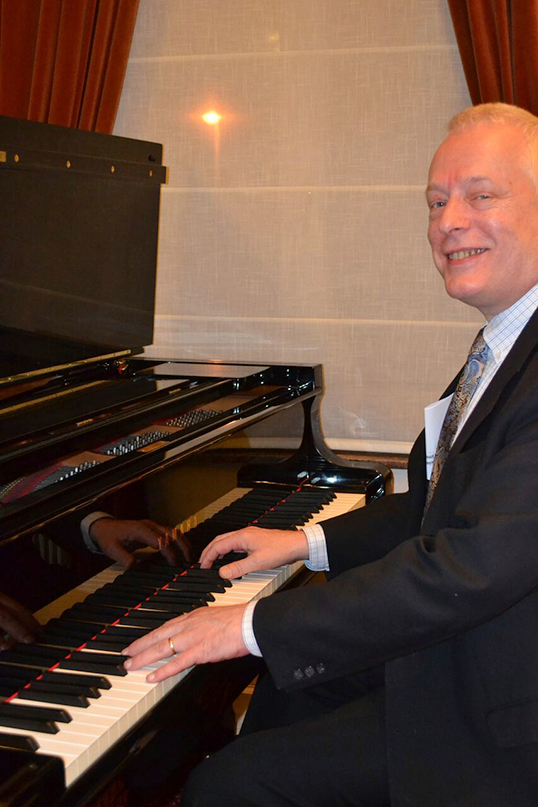 Olivier de Spiegeleir, grand pianiste belge. | Photo d'Olivier de Spiegeleir