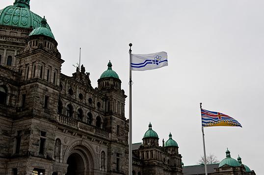 Le mardi 15 mars dernier Victoria a célébré la Journée de la francophonie en C.-B. | Photo par la Province de la C.-B.