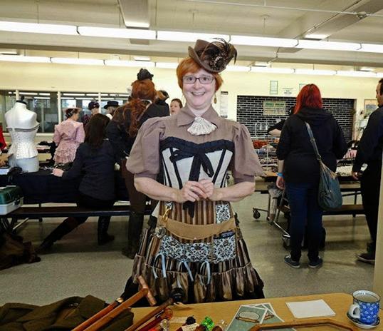 Tracey Ernst, organisatrice de l'événement. | Photo de Silver Claw Photography