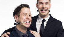 Tony Adams et Cory Thibert. | Photo par Isaac Vallentine