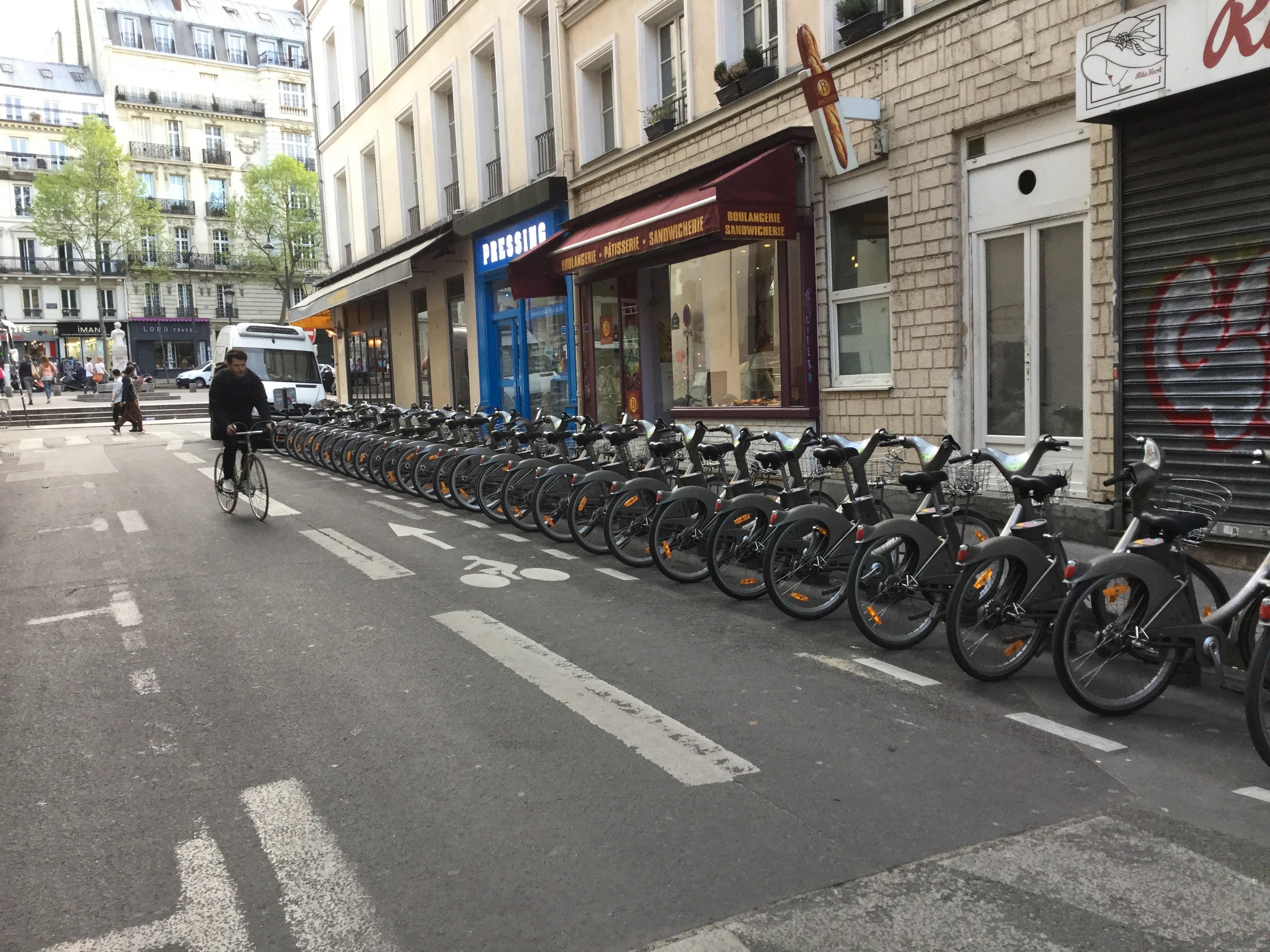 Le Paris des cyclistes. | Photo de Pascal Guillon