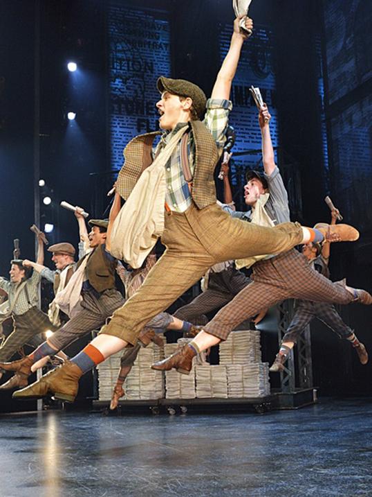 Newsie, un succès venu de Broadway.   Photo de Broadway Across Canada
