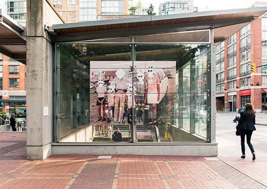 Untitled dans la rue Hamilton | Photo de CAG Vancouver