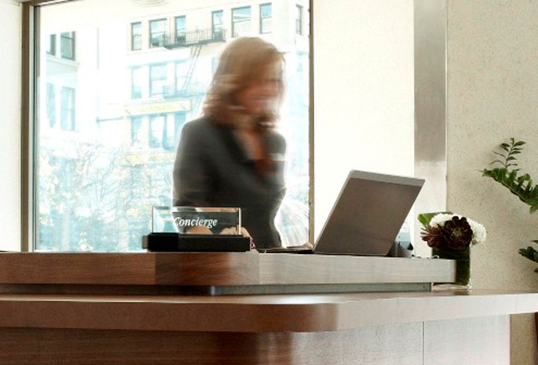 Le concierge, ambassadeur de luxe. | Photo de Gran Hyatt San Francisco