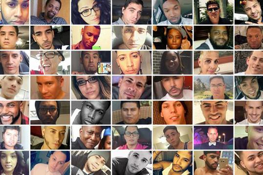 Les victimes du club gai Pulse d'Orlando.