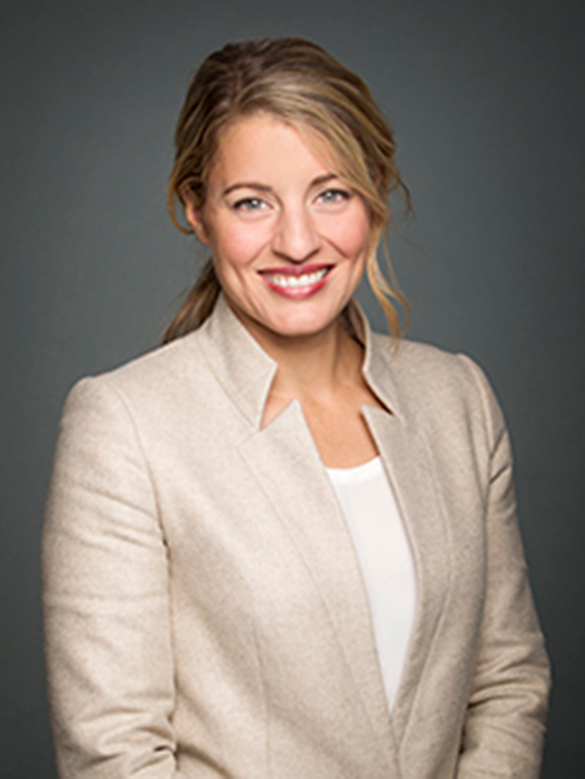 L'honorable Mélanie Joly, ministre du Patrimoine canadien. | Photo de Gouvernement du Canada