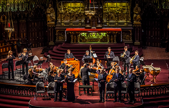 L'Orchestre baroque Arion de Montréal jouera laMesse en si mineurauCentre Chan. | Photo par Jean Guimond