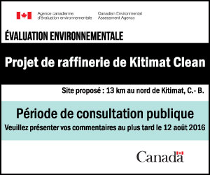 Projet de raffinerie … Kitmat Clean