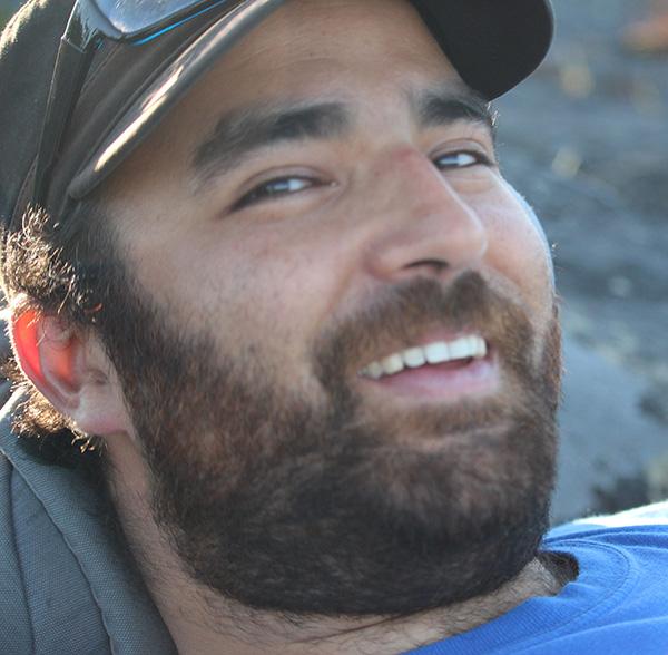 Alexandre Assabgui, qui vit depuis très peu à Yellowknife | Photo de Radio-Canada