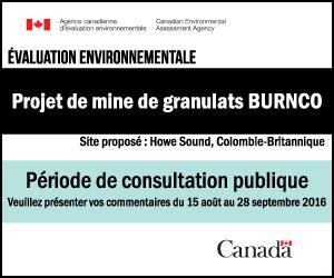 Projet de mine de granulats … BURNCO