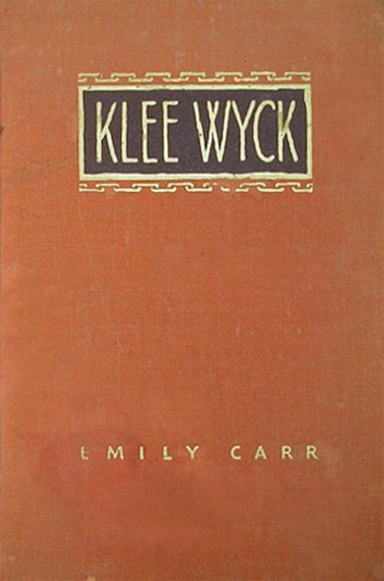 Le livre Klee Wyck.