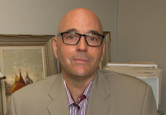 Robert Rothon, directeur général de la FFCB. | Photo de Radio-Canada