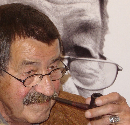 Günter Grass à Berlin en 2004. | Photo par Florian K