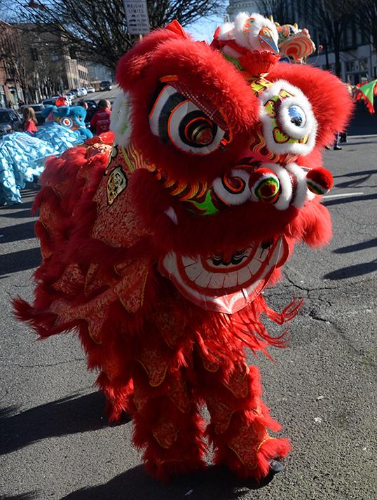 Défilé du Nouvel An Chinois. | Photo par Liz Randall