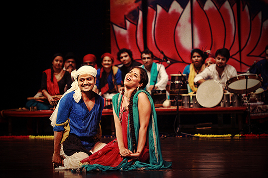 Piya Behrupiya, l'adaptation indienne de La nuit des rois de Shakespeare. | Photo de TCT Production