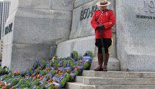 Tous les 11 novembre, on observe deux minutes de silence à 11 heures. | Photo de la Légion royale canadienne