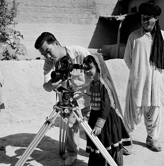 Une jeune fille en Afghanistan en 1960. | Photo de United Nations