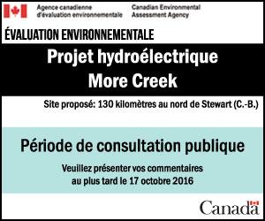 Projet hydroélectrique More Creek