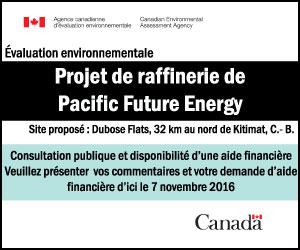 Projet de raffinerie Pacific Future