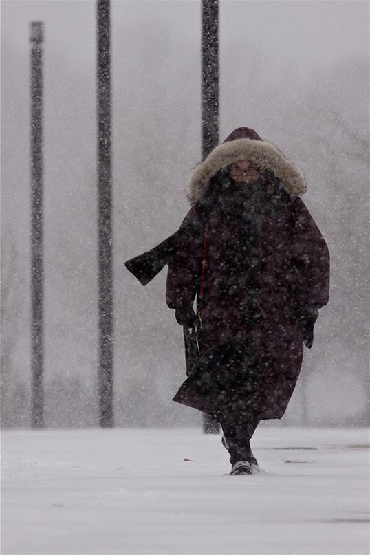 Troquer la neige de Montréal pour la pluie de Vancouver. | Photo par Guy Mayer