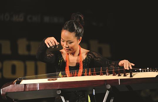 La musicienne fusion Van-Anh Vo. | Photo de Van Anh Vo