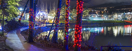 Les festivités seront clôturées le 26 novembre prochain avec l'événementLights at Lafarge. | Photo de City of Coquitlam Archives