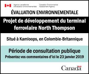 Projet de développement du terminal ferroviaire North Thompson