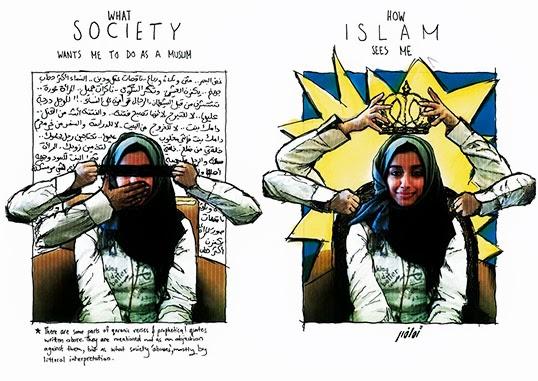 Un extrait de Diary of a Mad Arabian Woman | Illustration par Tamadher al Fahal