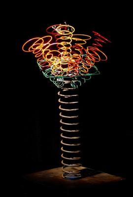 Spring Flower par Geoff McMurchy, artiste handicapé.
