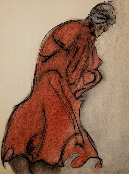 Le Manteau Rouge, oeuvre de Shirley Anne|Photo de Doré Productions