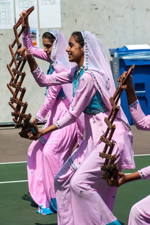 Un groupe indo-canadien lors du VISF. | Photo par Adri Hamael, Vancouver International Soccer Festival