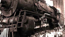 Le Boundless, plus grand train du mode imaginaire. Illustration ar Kenneth Opal et Firewing Productions