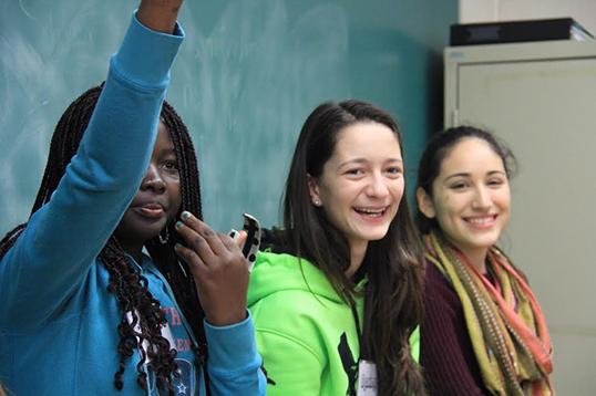 Un projet réalisé « par et pour » les jeunes.   Photo de l'ENSEMBLE pour le respect de la diversité