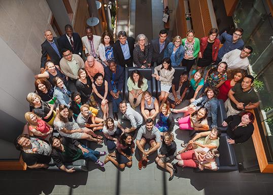 Participants à l'Université d'été de la francophonie.  Photo du Centre de la francophonie des Amériques